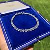 9.50ctw Round Brilliant Diamond Tennis Bracelet 30