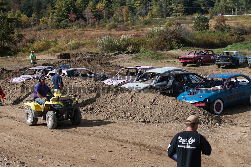 Demolition Derby, Broome-Tioga Sports Center, Sunday, September 29, 2013