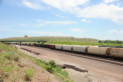 BNSF Rail Road New Castle, Wyoming