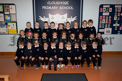 New Primary 1 Class at Cloughogue Primary School. Pictured are Miss Crilly's Class. R1539016