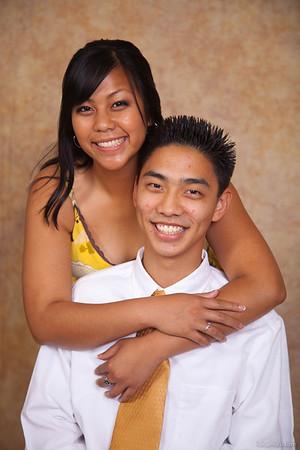 Gia & Mike's Graduation Portraits
