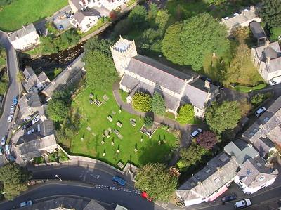Ingleton and surrond aerial photos