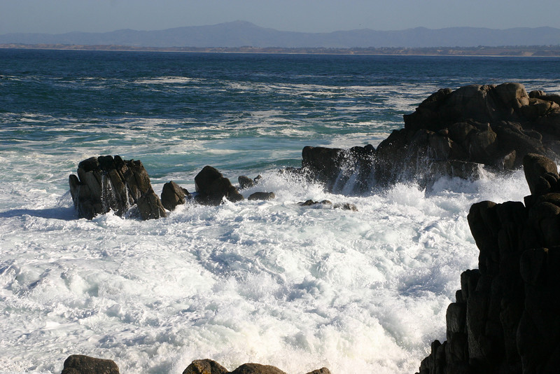 Monterey Bay is distressed this morning.