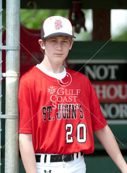 2010-04-06 Baseball SJS Team Portraits