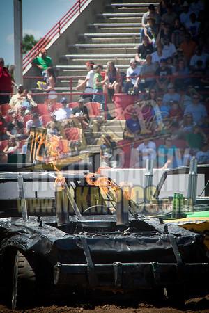 Demolition Derby, Greeley Stampede 2011