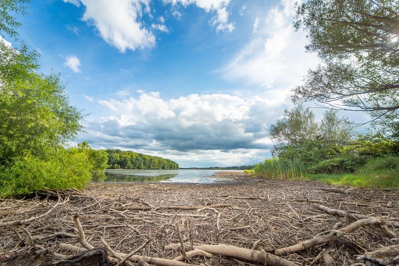 Cloud of Spruce Run Reservoir