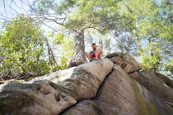 4-9 Climbing Coopers Rock