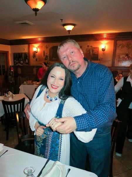 Romanian show at Bucharest restaurant - February 8, 2013