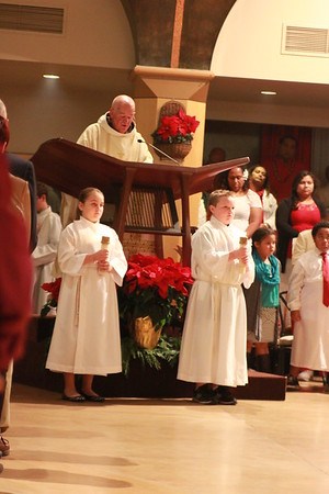12-24-2014 Christmas Eve Mass (7:00 p.m.)