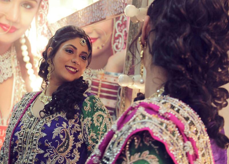 bride with attitude - prebridal photography