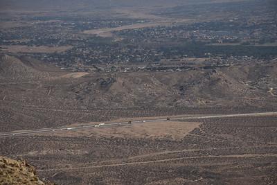Yucca Valley and Oro Grande, California
