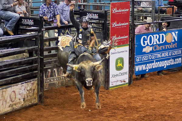 Photos of Augusta Futurity Bull Riding 2012
