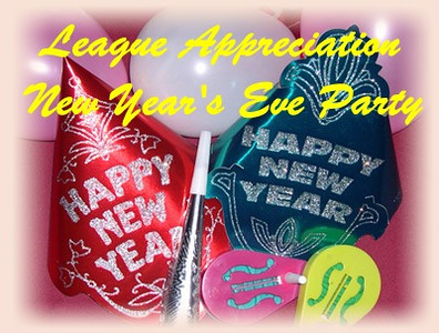 'League Appreciation' New Year's Eve Party 2012