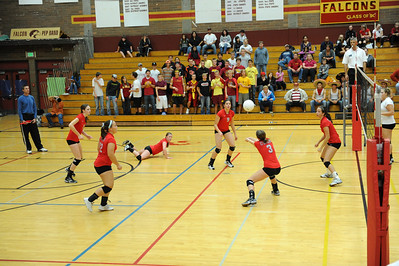<center><br>Lady Titan Volleyball <br>Union at Prairie<br>Oct 15, 2009</center>