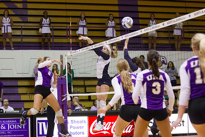 UNA Volleyball vs West Florida 09/23/12