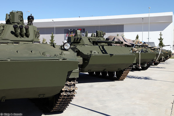 Military-technical forum ARMY-2016 - Static displays part 1: Tanks, IFVs and APCs