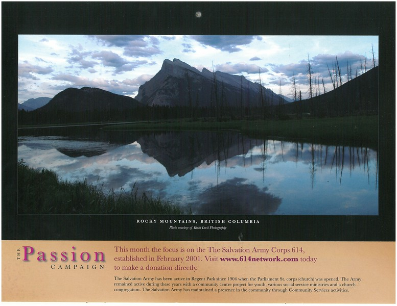 2009 Passion Campaign Calendar Nov.. 2009 Rocky Mountains, B.C. page.jpg