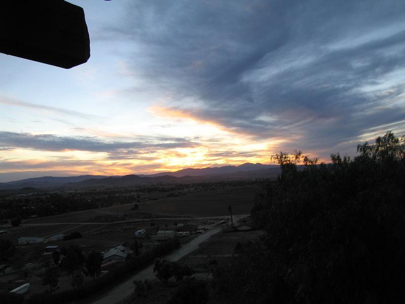 Sunset -- 5 Feb 2006