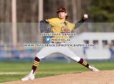 4/29/2016 - Varsity Baseball - Cape Elizabeth vs Kennebunk