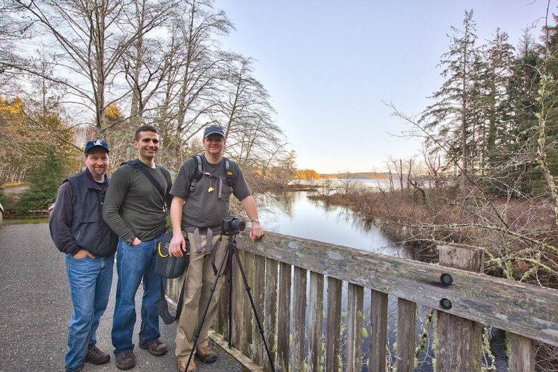 scholle, Armstrong, Coleman at Lake Ozette