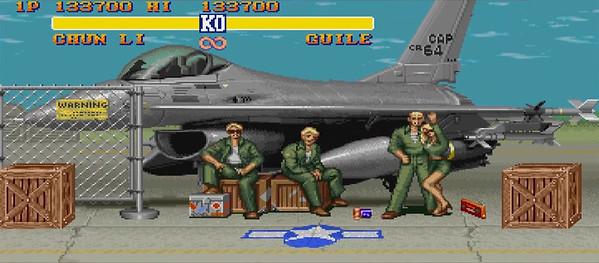 Escenario Street Fighter