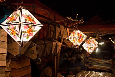 Night Market. Luang Prabang. Lao PDR.