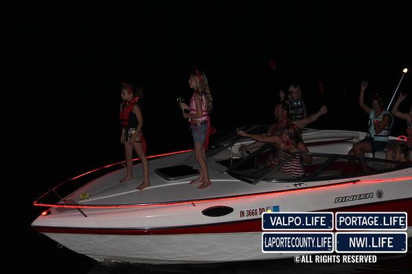 Portage Boat Parade 2011