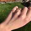 1.86ct Rustic Rose Cut Diamond Bezel Ring 6