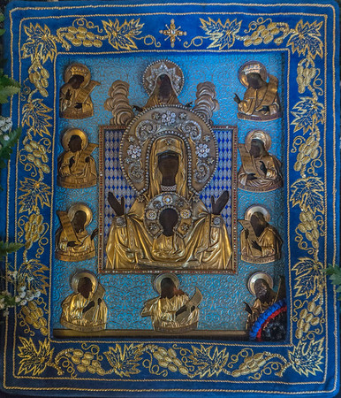 Kursk Root Icon Visit to Resurrection Skete