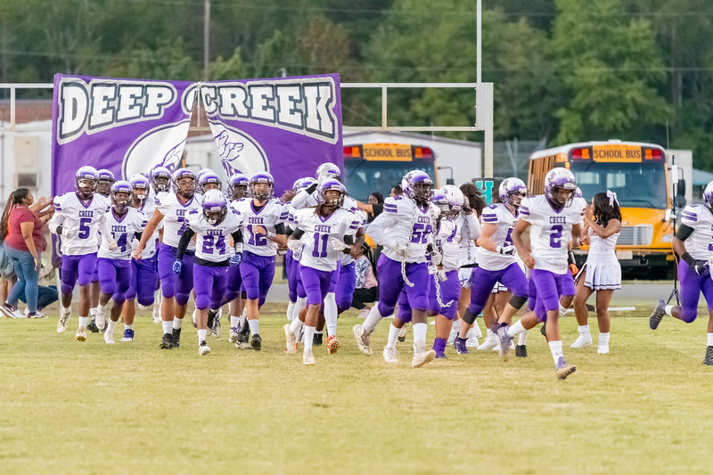 2019-09-27 Deep Creek vs Hickory Varsity Football