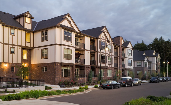 Amberglen West Apartments, Hillsboro OR  Client:  Myhre Group Architects, Portland OR