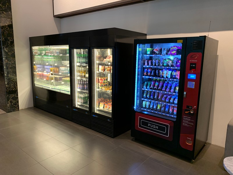 Vending machines at Hyatt House KL