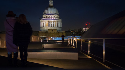 London's St Paul's cathedral.