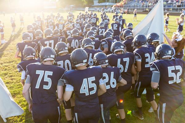 CC Varsity Football vs Tipton 2016-9-2