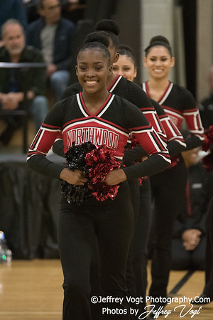 1-20-2018 Northwood HS at Northwest HS Poms Invitational Division 2, Photos by Jeffrey Vogt Photography