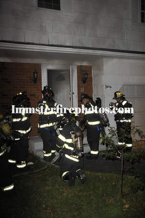 Syosset FD Woodbury RD house fire 9-7-10