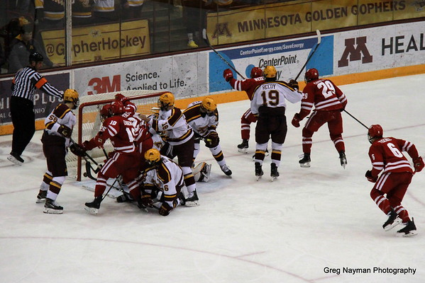 MN Gophers v WI Badgers by Greg Jan 2019