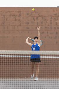 2021.04.27 Emmylou Tennis Bear Branch at Shultz JH