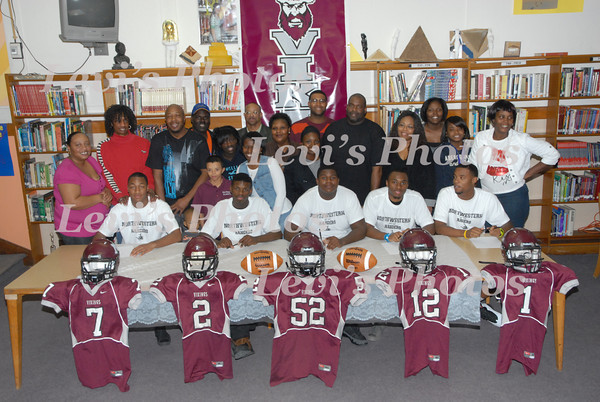 Douglass & Northeast Players Sign Letters