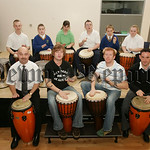 Pupis from Rathore School who took part in the African Drum Workshops Afro-Beat are pictured with Joe Ballance and Seamus Rafferty along with school Principal Raymond Cassidy and Teacher Pat ...