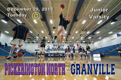2015 Pickerington North at Granville (12-29-15) JUNIOR VARSITY