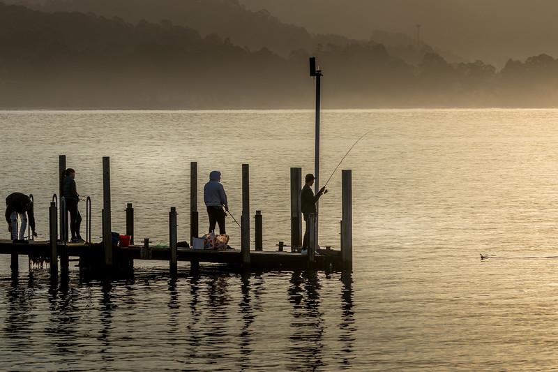 Adventure Bay jetty, Tasmania
