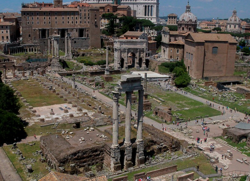 AITALY 2015,10 620, Forum from Palatine Hill, Rome.jpg