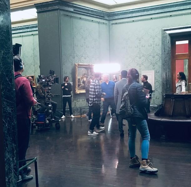 National Gallery Filming.JPG