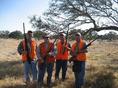 DANE, WALT, GREG AND RODNEY DEC 2007