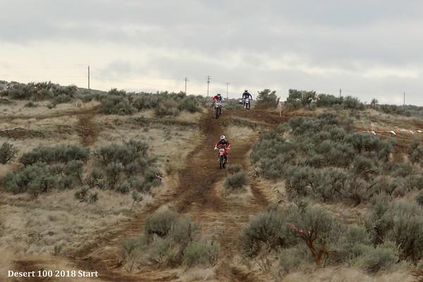 2018 Desert 100 Race - Start