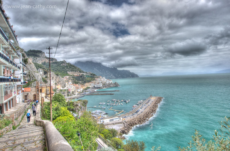 HDR - Our walk from Agerola to Amalfi was very picturesque ... hence the pictures!