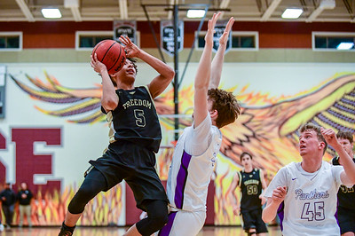 State Playoffs - Boys Basketball: Freedom vs Potomac Falls 3.4.2019 (by Al Shipman)