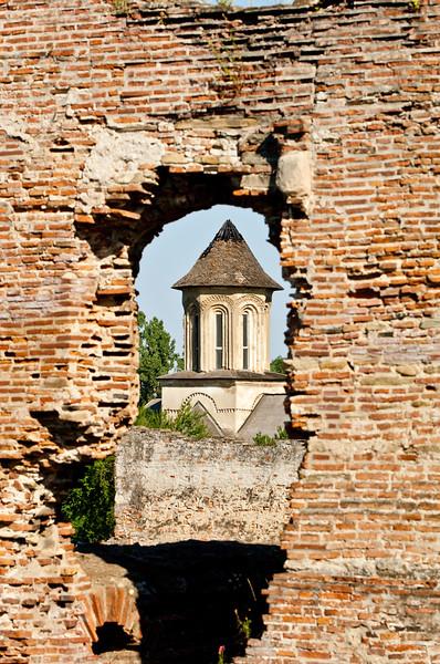 The Princely Court in Targoviste, Wallachia,Romania