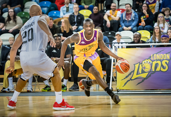 London Lions v Newcastle Eagles BBL Semi Final